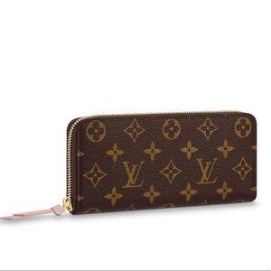 Louis Vuitton Clemence wallet NEW